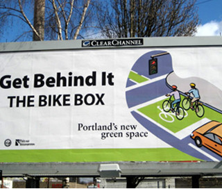 Bike Box Billboard Campaign