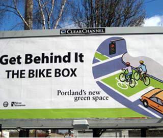 Bike Box Billboard Campaign