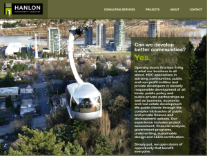 Hanlon Development Website