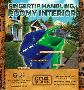 Recycling Rollcarts Fingertip Handling ad