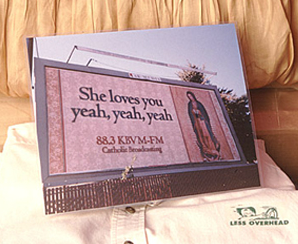 KBVM-FM  She Loves You billboard