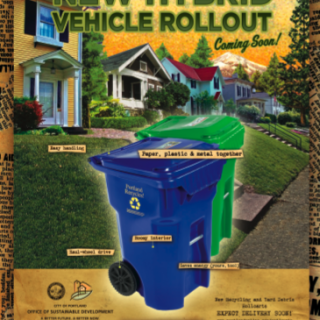 Portland Office of Sustainability Recycling Rollcarts Campaign