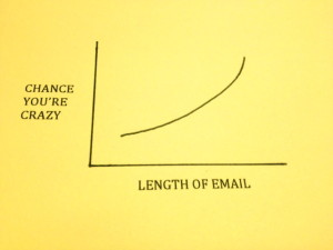 Crazy/Long email graph