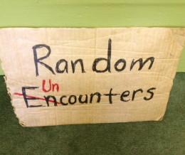 Random Uncounters