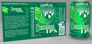 Package copy for 3 GoodLife brews.